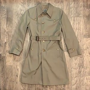 Christian Dior Lady's Wool-Lined Trench Coat 40L